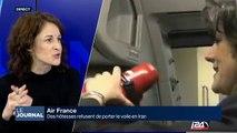 Des hôtesses d'Air France refuse de porter le voile en Iran