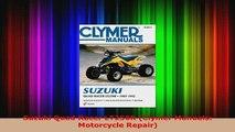 Download  Suzuki Quad Racer LT250R Clymer Manuals Motorcycle Repair Ebook