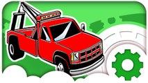 Мультфильмы для Детей. Эвакуатор, Автомойка и Автосервис. Гонки Машинок в городе. Трактор Павлик