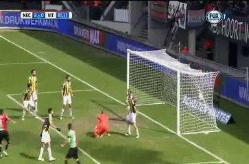 Гол Дарио Думич · НЕК (Неймеген) - Витесс (Арнем) - 2:0