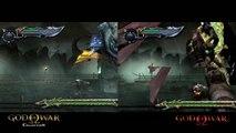 God of War Collection 'God of War I Comparison' TRUE-HD QUALITY