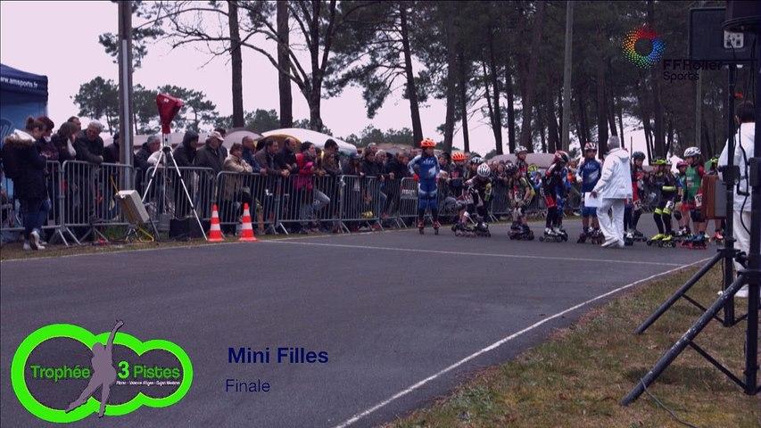 3 pistes 2016 Gujan F mini finale faux départ