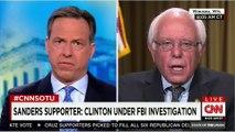 Bernie Sanders on Rosario Dawson Attacking Hillary
