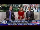 Trump Tax Bombshell - Romney Donald Hiding Secrets In Tax Returns - Fox & Friend