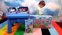 Свинка Пеппа игрушки распаковка Peppa Pig unboxing toys