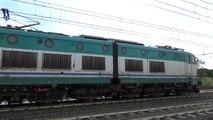 E656.082 sull' ICN 1960 Siracusa/Palermo Centrale - Roma Termini, in partenza da POMEZIA!!
