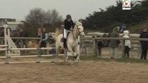 Les chevaux sautent des obstacles - TV Quiberon 24/7