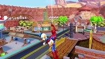 Comptines Bébé - Dessin animé - Spiderman vs Donald Duck & Disney Cars Mater samuser