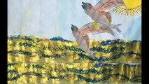 Cahier de Dessin Animé - La Mer - flyingfish - Classe de MS de la Cougourlude