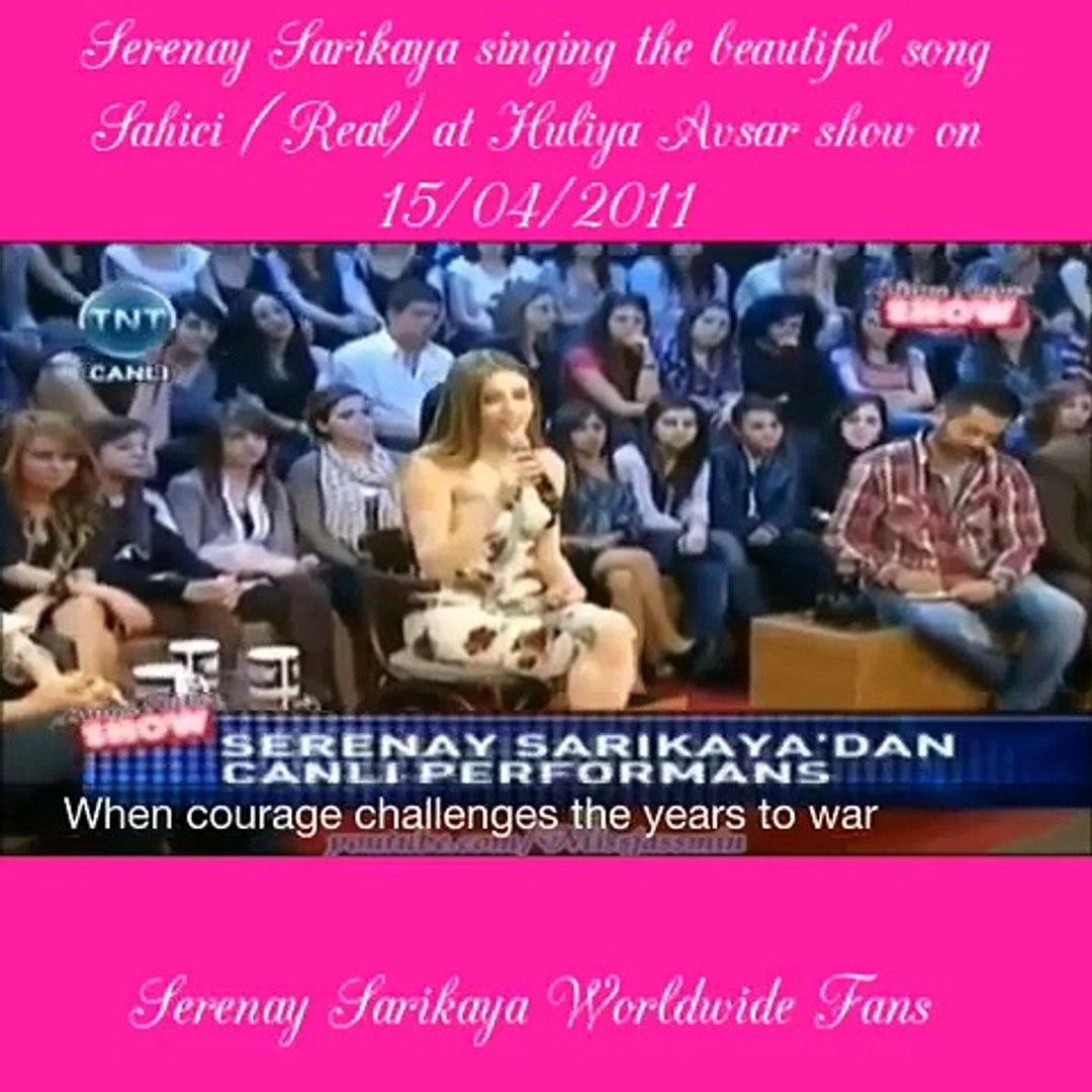 Beautiful song Sahici (Real ) by Serenay Sarikaya with eng subtitles