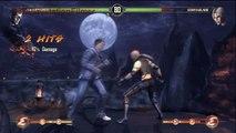Mortal Kombat Story Mode Walkthrough Part 2: Johnny Cage {Fight 3: Sonya & Fight 4: Kano}