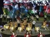 kungfu string's performance on KungFu String Girls Band gave