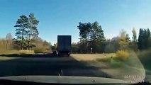 Truck vs Car crash compilation -22. Brutal Russia. Car Crashes and road accidents. ДТП грузовиков