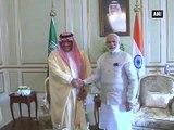 PM Modi meets Crown Prince, Deputy Crown Prince of Saudi Arabia