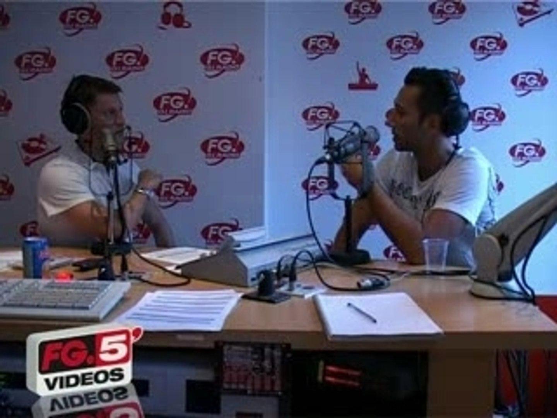 CEDRIC GERVAIS invité sur FG DJ RADIO