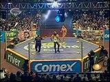 AAA-SinLimite 2009-03-15 Rey de Reys 01 Rey de Reyes Semi Final - Latin Lover vs. Abismo Negro vs. Ozz vs. Black Abyss