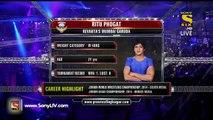 Pro Wrestling League 2015-Vinesh Phogat Vs Ritu Phogat-21st December 2015