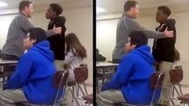 Amazingly Caring Teacher Calms Down Irate Student