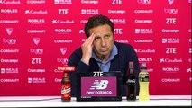 Rueda de prensa de Eusebio tras el Sevilla FC (1-2) Real Sociedad