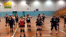 Dead End Derby - Dancing the Cha Cha on skates