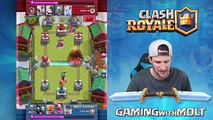 3 MUSKETEERS DEFEATED -- Clash Royale -- STOP THE 3 MUSKETEERS!