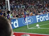 Messi causes an own goal for Olympic Lyon