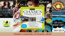 PDF  Chases Calendar of Events 2015 Read Full Ebook
