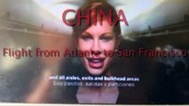 Flight to China ATL-SFO, Atlanta to San Francisco, Delta Airlines Boeing 767- Full Flight  HD