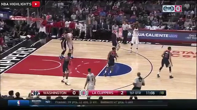 Washington Wizards vs LA Clippers – Highlights – April 3, 2016