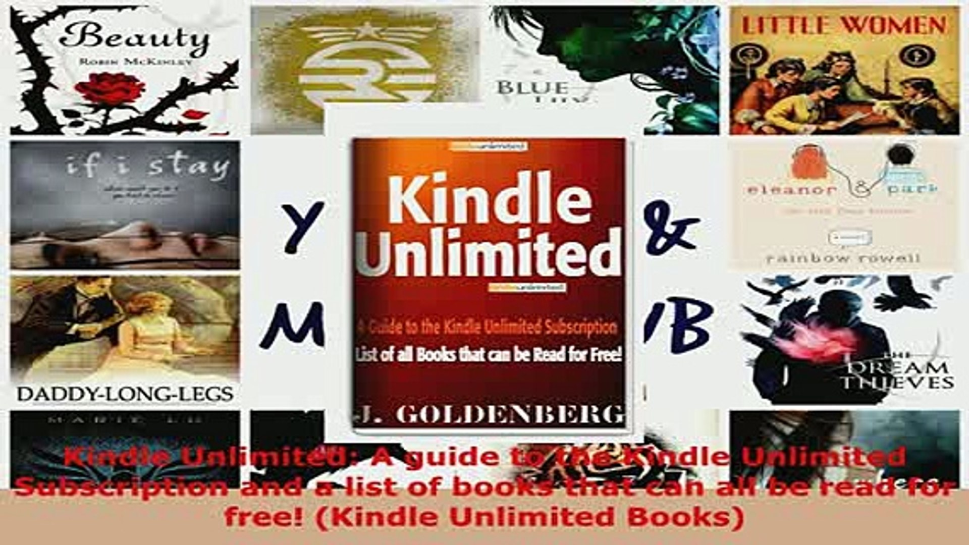 PDF Kindle Unlimited A guide to the Kindle Unlimited Subscription and a  list of books that Read Online