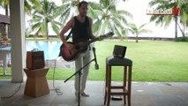 Exclusif : Gérald De Palmas en live chez lui sur l'ïle de la Réunion