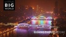 Guangzhou Galore (Time Lapse - Tilt Shift - Aerial - 4k)
