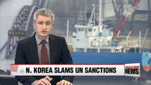N. Korea slams UN sanctions, calls on U.S. to ease tension