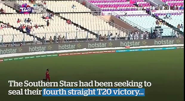 T20 Women's World Cup- West Indies upset Australia in final over thriller +923087165101