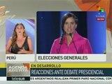 Perú: ataques a Verónika Mendoza le favorecen de cara a elección