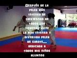 Most Intense Karate Fight Ever... La más intensa pelea de Karate de todos los tiempos...