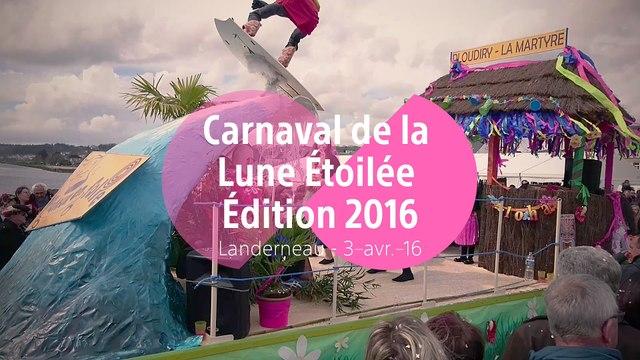 Carnaval de la lune étoilée - Edition 2016 - Grande Parade - Landerneau