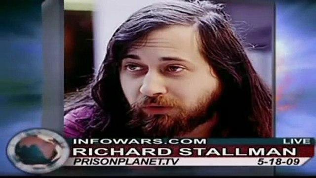 Internet Icon Richard Stallman on Alex Jones Tv (HD) 1/3:Who Needs Windows?