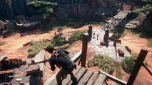 Uncharted 4 : A Thief's End - Gameplay : gunfight
