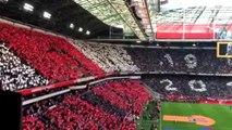 Le magnifique tifo et hommage à Johan Cruyff à Amsterdam - Ajax vs. PEC
