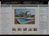 Maison avec piscine bord de mer Espagne Jardin soleil