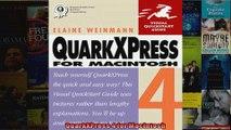 DOWNLOAD PDF  QuarkXPress 4 for Macintosh FULL FREE