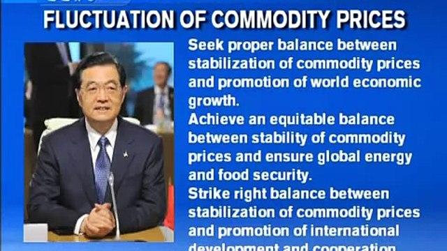 President Hu Key Issues G20 Summit 2011
