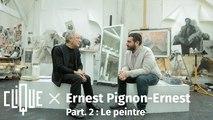 Clique x Ernest Pignon-Ernest - Part. 2 : Le peintre