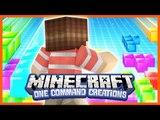 Tetris in Vanilla Minecraft - One Command Creations (One Command Tetris)