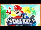 Mario Kart in Vanilla Minecraft - One Command Creation (Mario Kart Items)