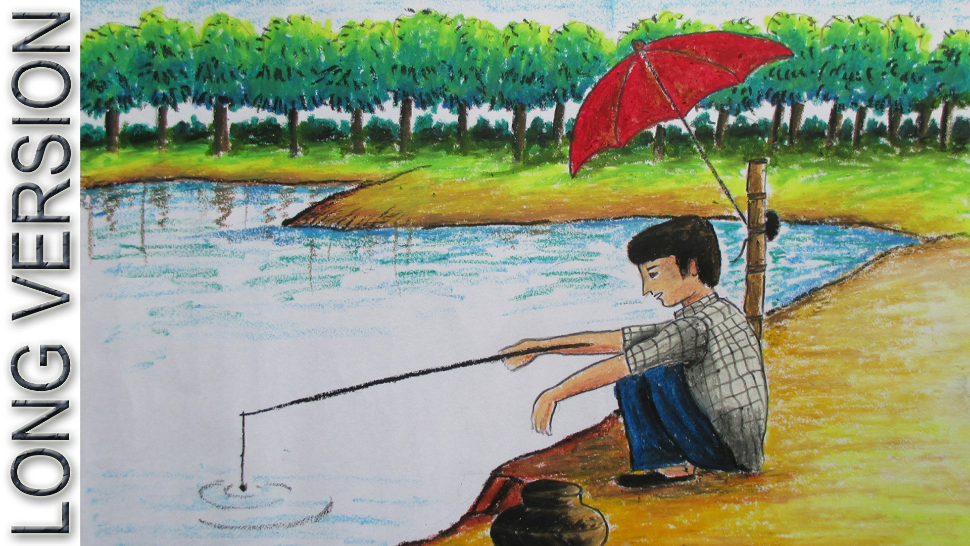 How to Draw Fishing [LONG VERSION]