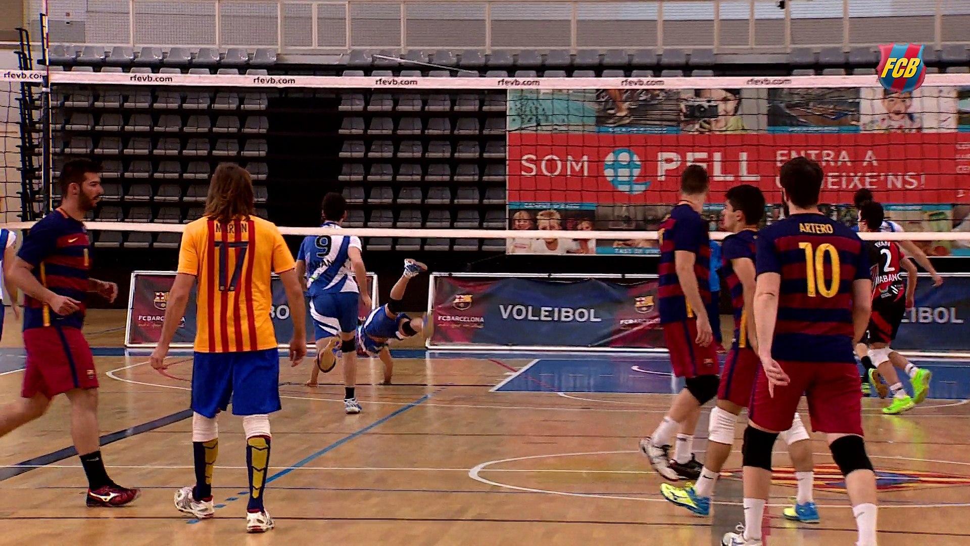 La sección de voleibol del FC Barcelona consigue el ascenso a la Súperliga