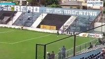 La chilena espectacular de Miracco ante Almagro en la B Nacional Argentina