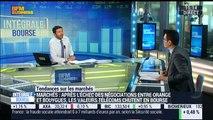 Les tendances sur les marchés: Les valeurs télécoms chutent en Bourse après l'échec de la fusion Bouygues-Orange - 04/04